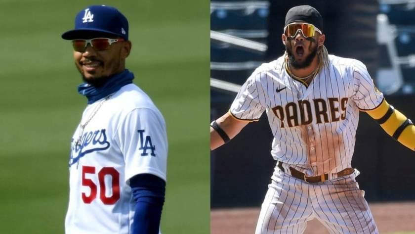 Dodgers Padres NL West
