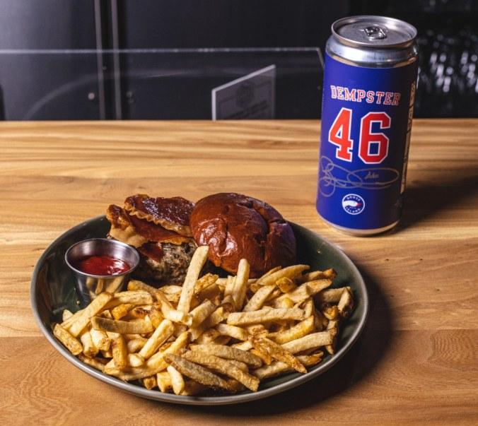 Ryan Dempster goose island burger beer