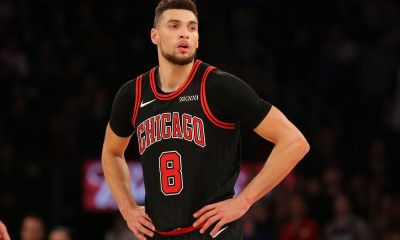 Zach LaVine out