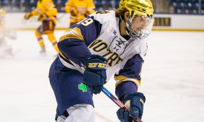Landon Slaggert Notre Dame Rookie of the Year