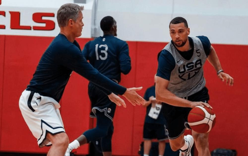 Zach LaVine USA Basketball Olympics