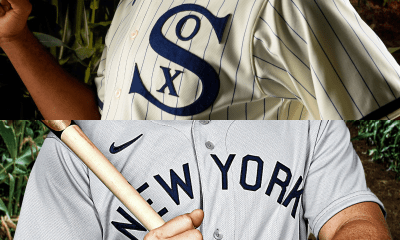White Sox Yankees Field of Dreams Uniforms