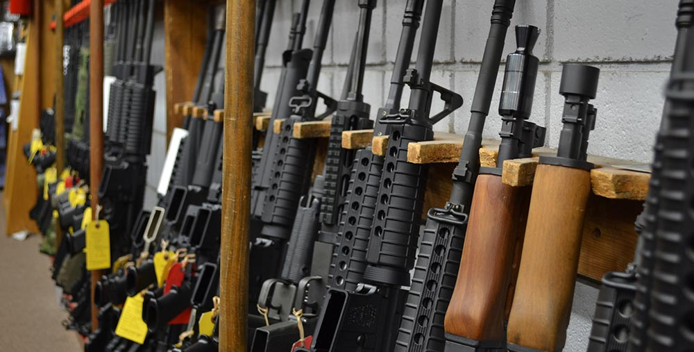 Over 5,000 Guns In Stock