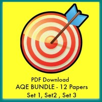 AQE Practice Papers Set1, Set 2 and Set 3. PDFs