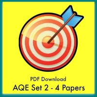 AQE Practice Papers Set 2 PDFs