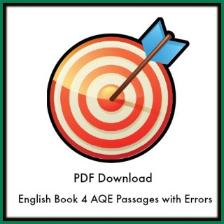 AQE Passages with Errors Revision