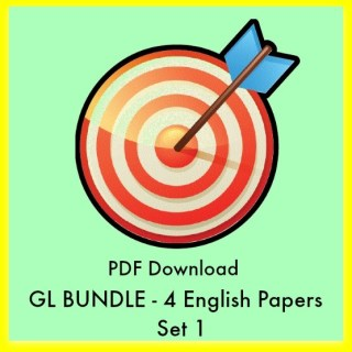 GL Assessment English Papers