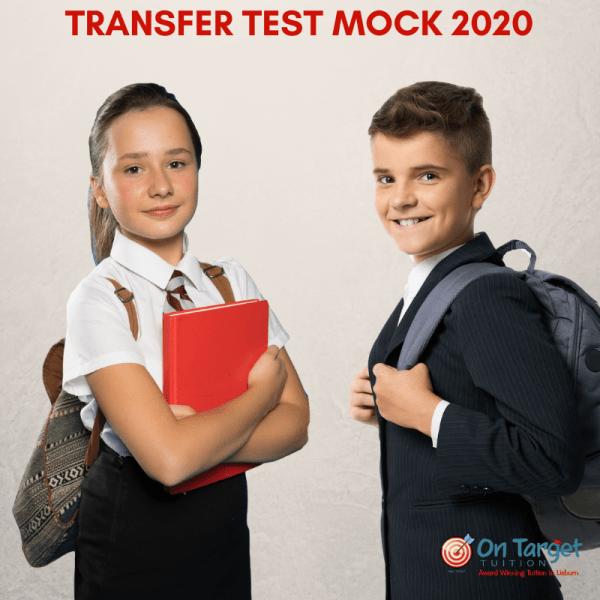 Transfer Test mock 2020