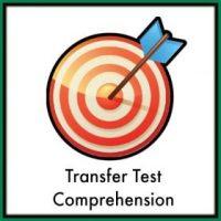 Transfer Test Comprehension