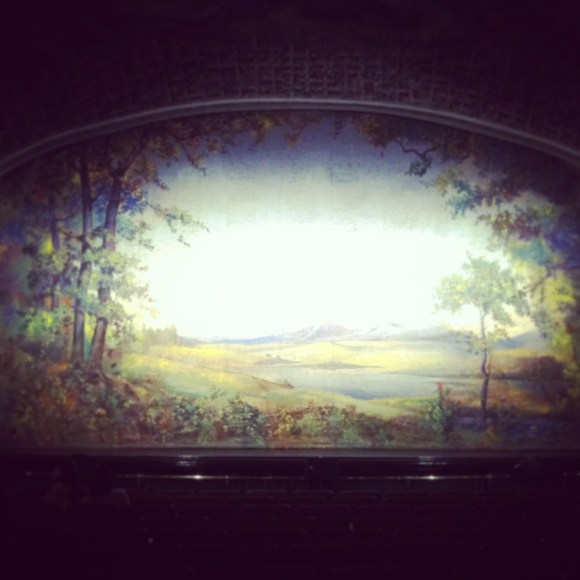 Original Fire Screen - Winter Garden Theatre