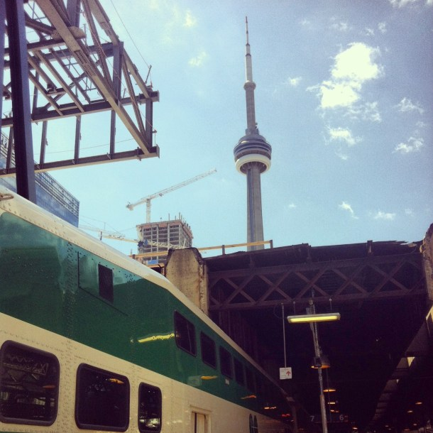 Go Train to the CNE