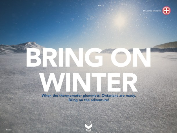 Ontario WInter Magazine