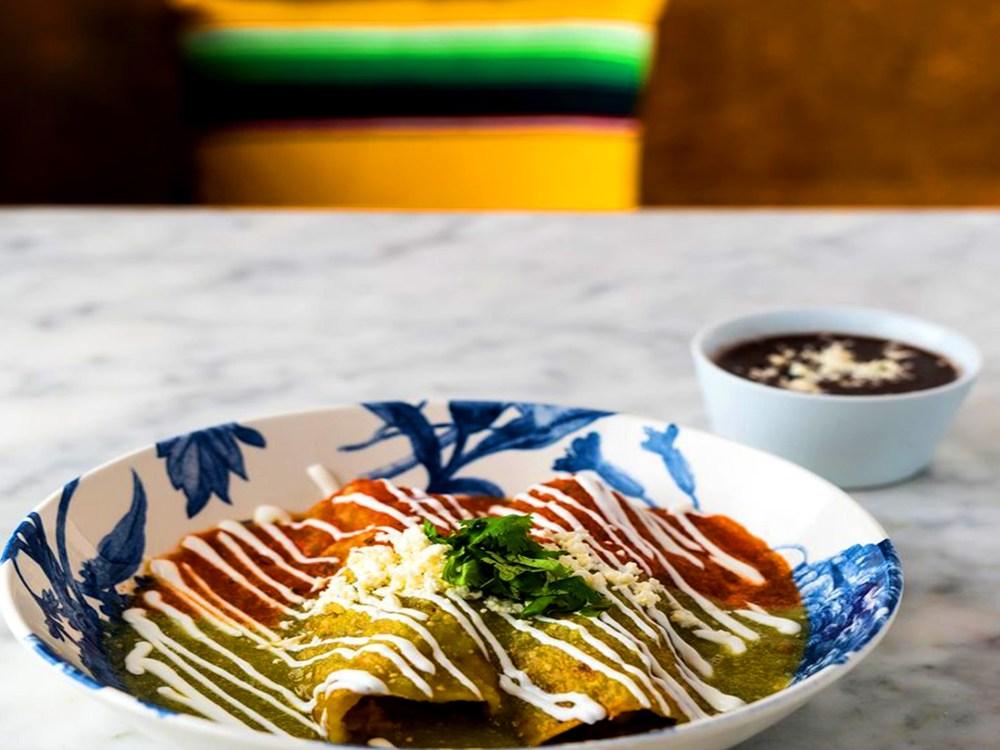 Dish at La Condesa