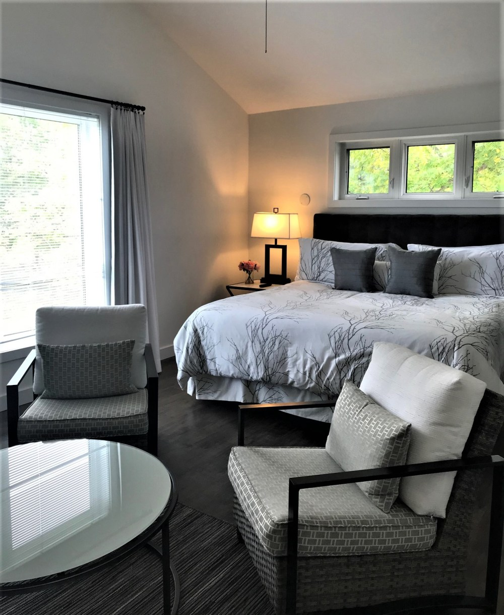 Master bedroom at The Cottage