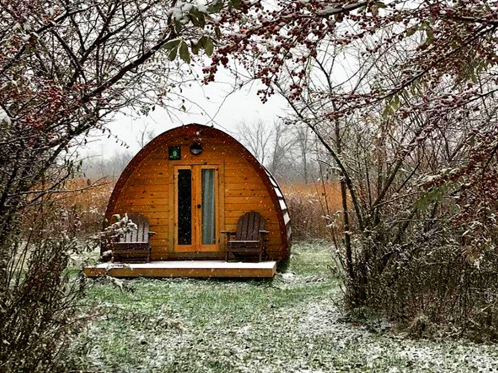 Long Point Eco Adventure glamping pod