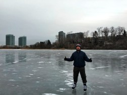 Keeping it classy on the pond.