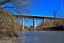 The Don passing under the Millwood Bridge.