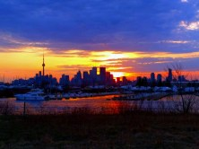More Toronto in the late day sun.