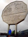 The big nickel a must see on any rainy day.
