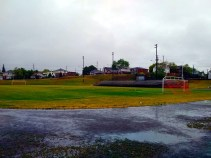 Made a quick trip to see the old Queens Athletic Field. Played some good football games there back in the day.