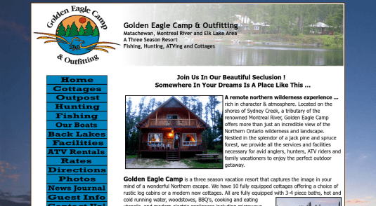 Cottages and Cabins for rent in Elk Lake