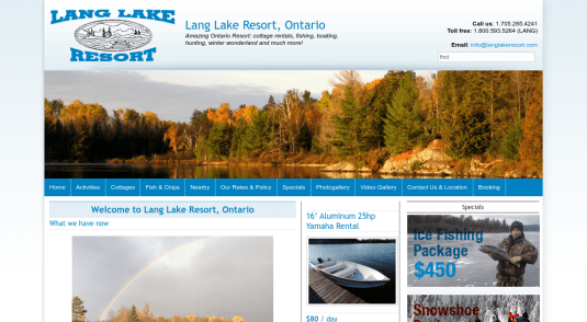 Cottages and Cabins for rent in Manitoulin Island - North Shore