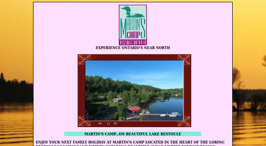 Cottages and Cabins for rent in Restoule