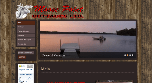 Cottages and Cabins for rent in Crystal Falls - Lake Tomiko