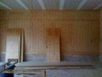 Garage paneling | We need two tee times
