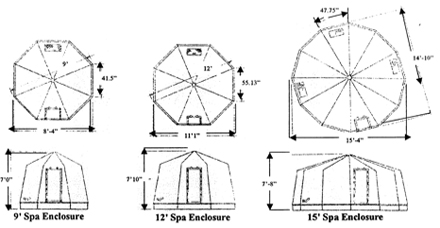 Outdoor Spa: Outdoor Spa Sizes