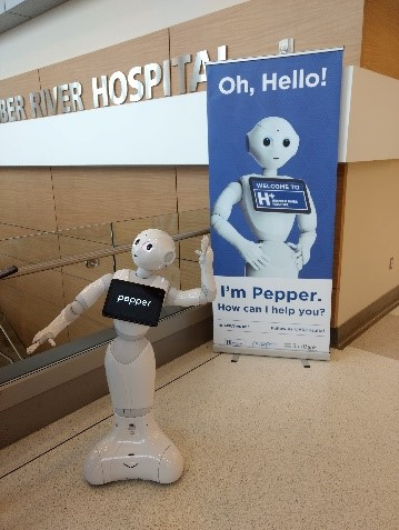 Humber River Hospital robot