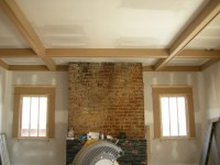 coffered ceiling  Ontario Park Bungalow Blog