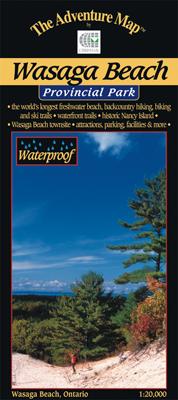 Wasaga Beach Provincial Park Map