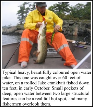 Pike Fishing & Muskie: Try Open Water