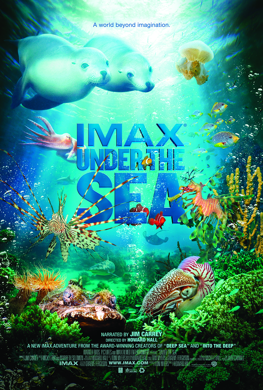 Under the Sea The IMAX Experience at Cinesphere  Ontario Place