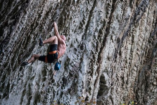 Greg Williamson - Lion's Head guidebook contributor, local, and all around climbing beast
