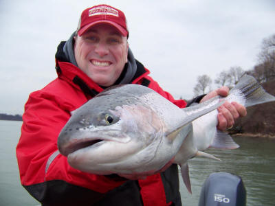 Ontario Rainbow Trout Fishing