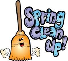 spring clean up image