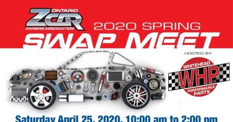 OZC 2020 Spring Swap Meet on Saturday April 25