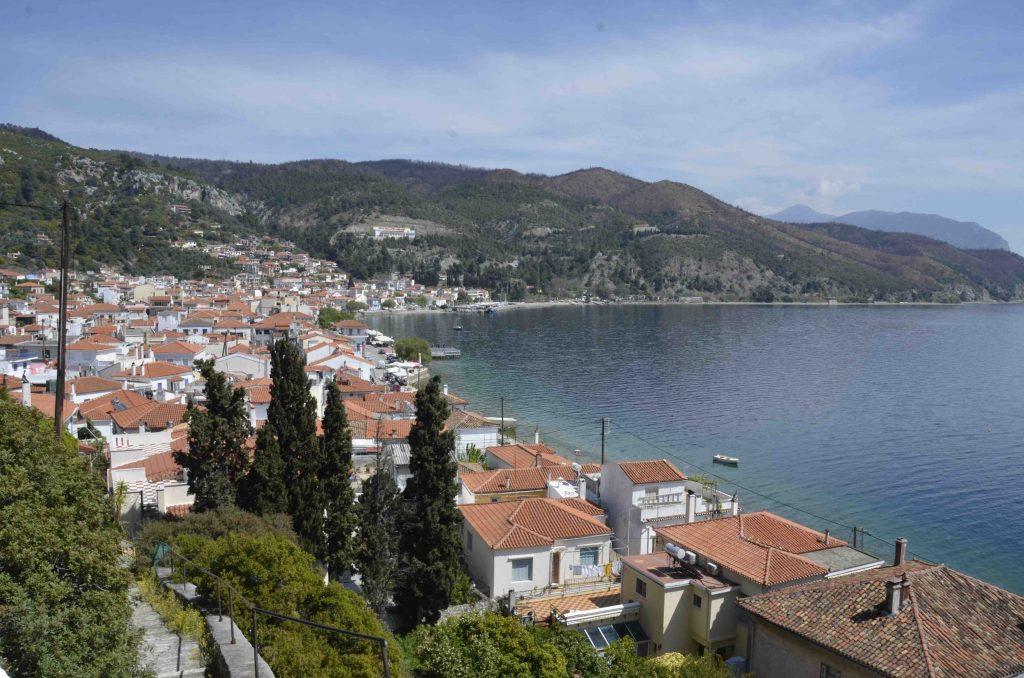 Havenplaats Limni Noord Evia Griekenland