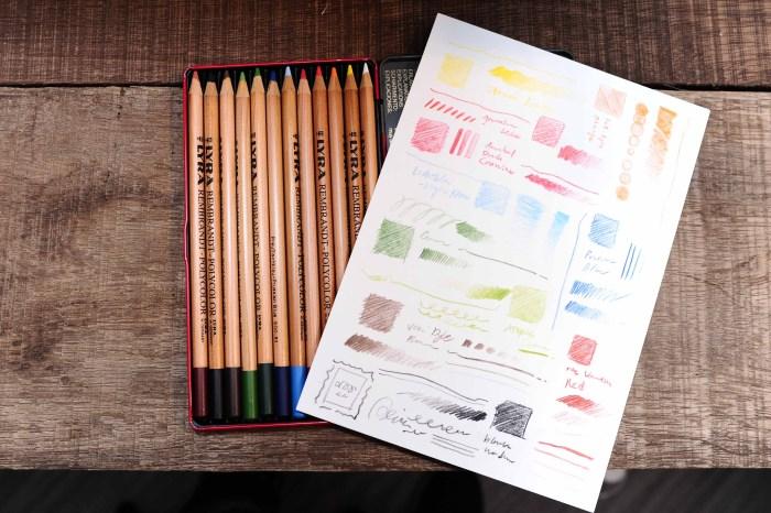 《波麗繪畫開箱》德國LYRA 林布蘭油性色鉛筆,經典二十年古董級老物