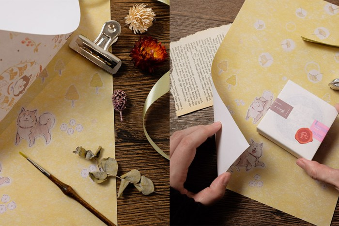 日本旅遊創作: 復古質感包裝紙,幫書本穿新衣!