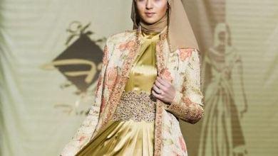 """ازياء اسلامية من تصميم دار """"الفردوس"""" الشيشانية"""