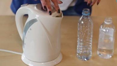 تنظيف ابريق الماء