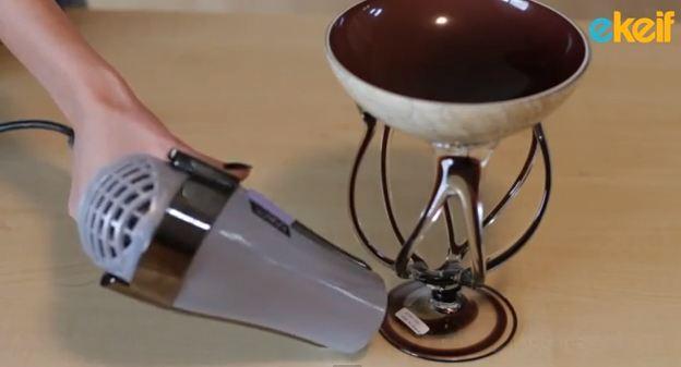كيف نزيل القطع اللاصقة من ادوات المنزل