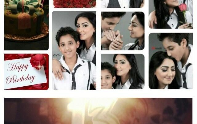 هيفاء حسين تحتفل بعيد ميلاد ابنها