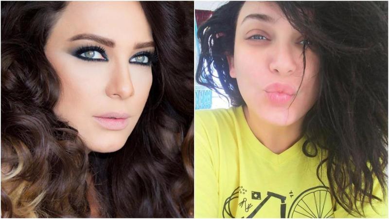 بالصور : كيف غير المكياج ملامح النجمات السوريات... تغير مذهل