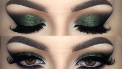 مكياج اليوم الوطني كيف تختاري اللون الأخضر المناسب للون عينيكي؟