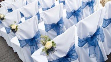 حفل الزفاف والأختيار المناسب لاغطية الكراسي لإكمال أناقة حفلتك