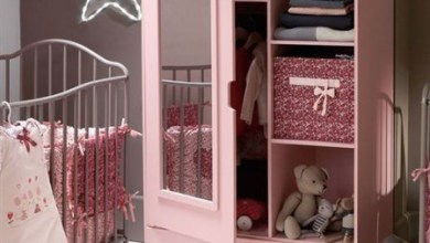 غرفة نوم الأطفال وأجمل ديكورات دولاب الملابس بتصميم عصري